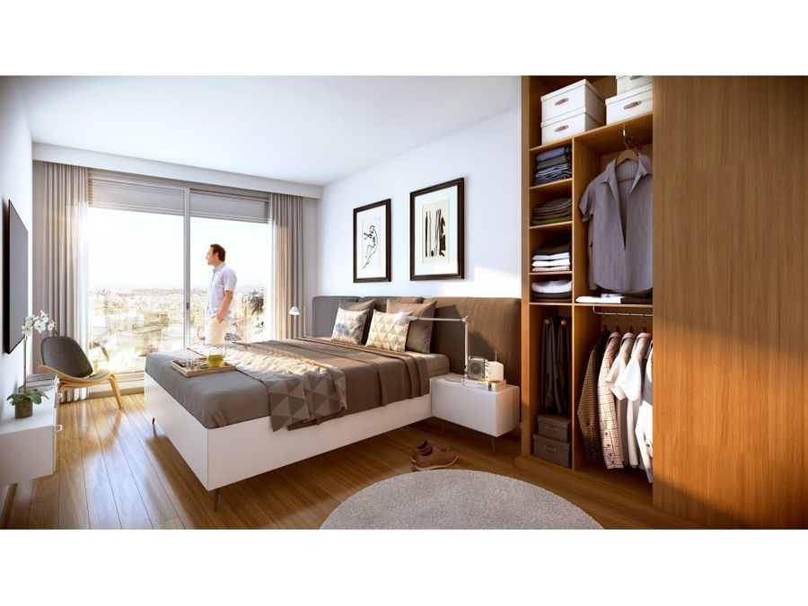 centra un dormitorio terraza gran vista