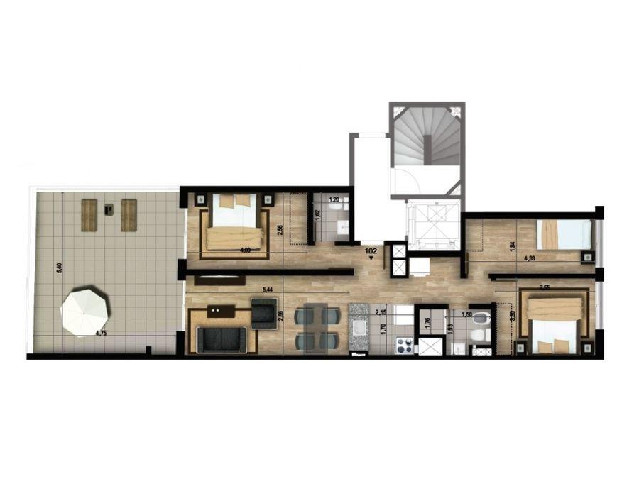 cordon tres dormitorios terraza dos banos garaje
