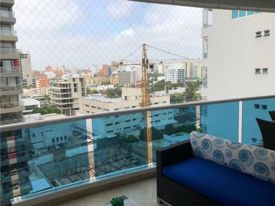 se vende hermoso apartamento barrio alto prado