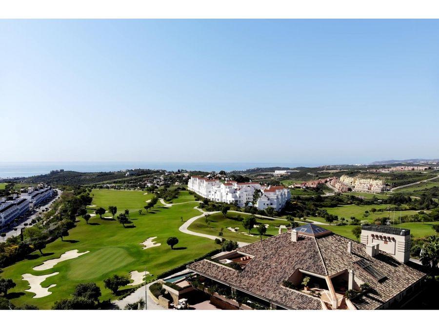 10 terrenos en un golf resort en estepona espetona con vistas al mar