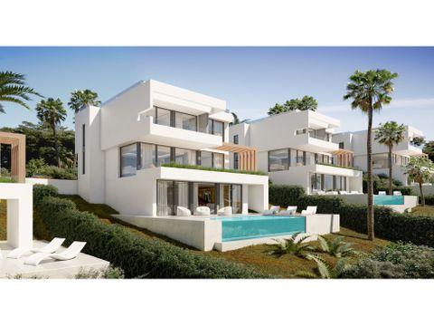 15 villas exclusivas en cala de mijas malaga