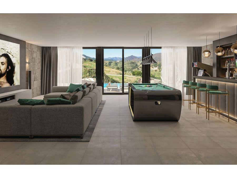 promocion de 15 villas exclusivas en cala de mijas malaga