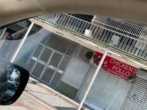 av victoria vendo local con restaurant equipado 34mts2