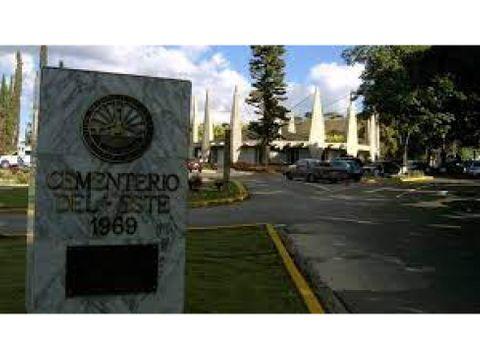 vendo parcela 2 puestos cementerio del este 9518