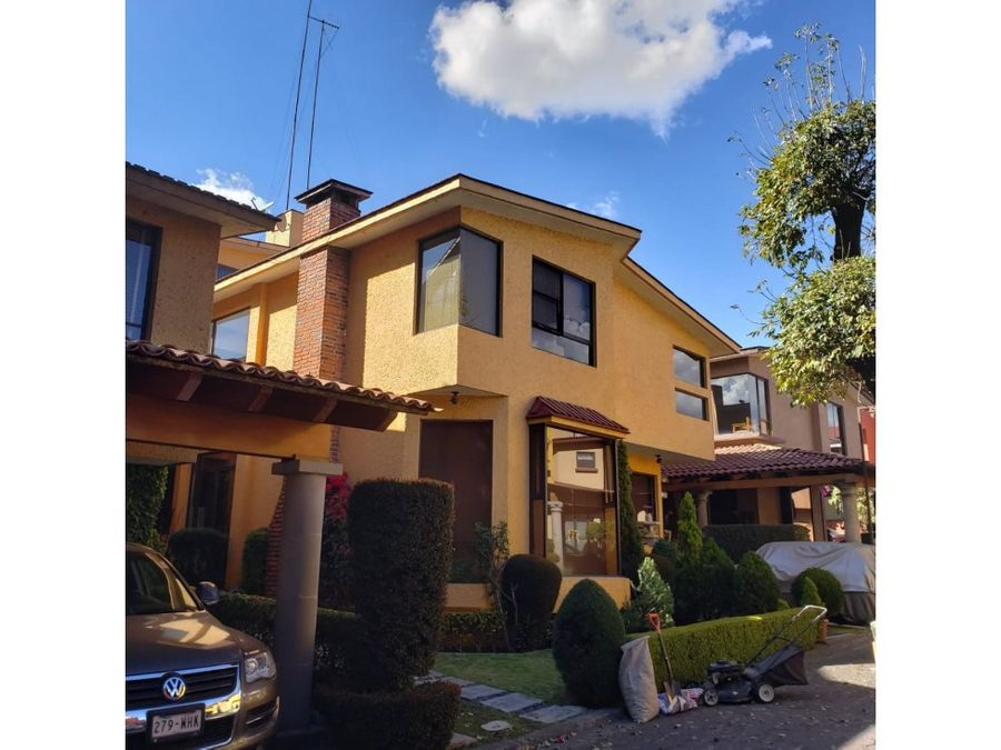 casa en condominio en venta san jeronimo lidice