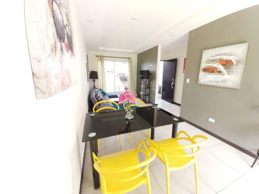 alquiler de apartamento amueblado heredia cariari boulevard park