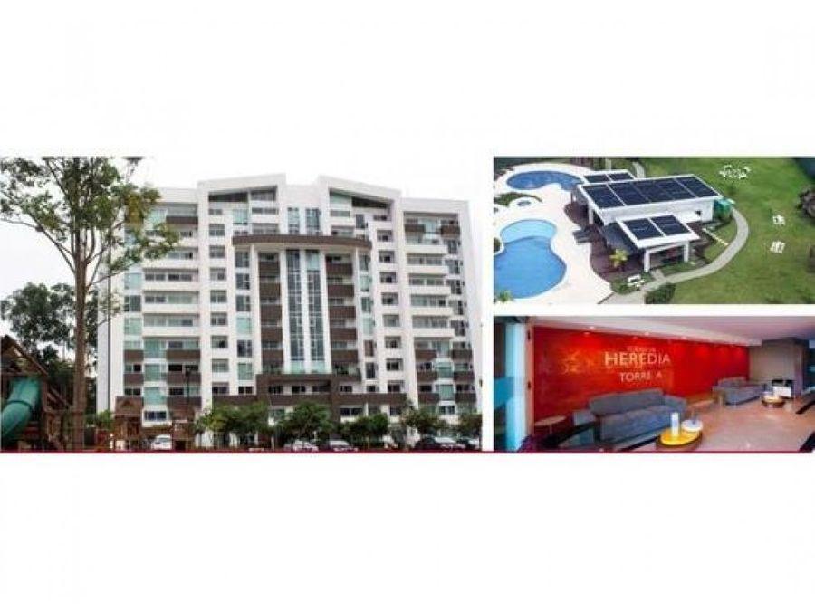 venta de apartamento amueblado heredia barreal torres de heredia