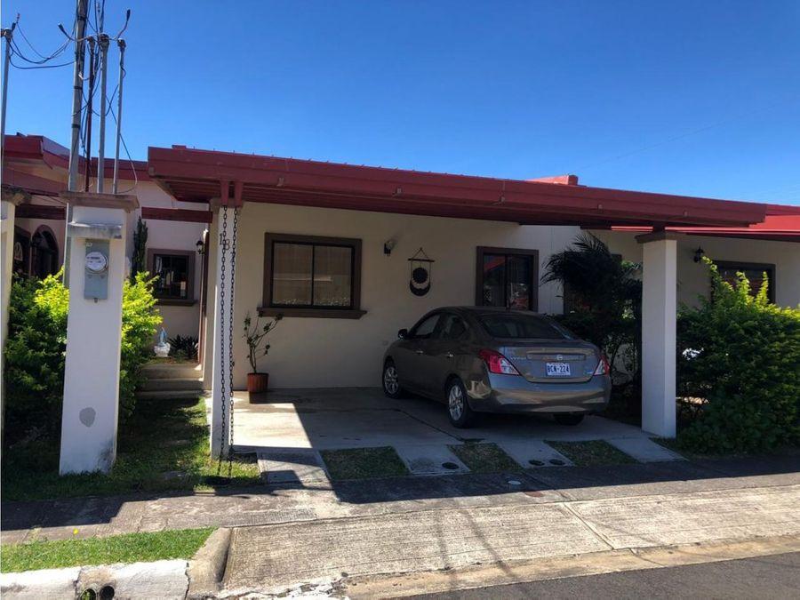 venta de casa heredia barva condominio vila del sendero