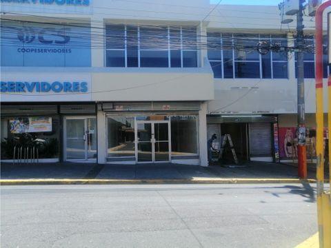 alquiler de local comercial heredia centro edificio rosaflor