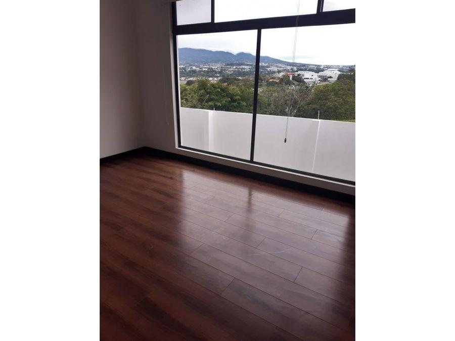 alquiler de apartamento escazu guachipelin condominio cedrela