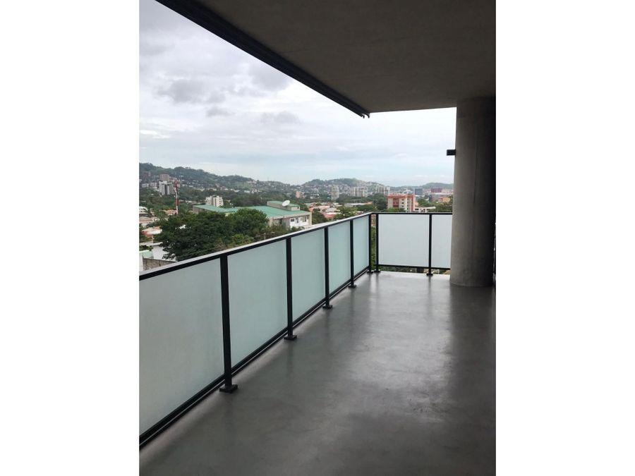 alquiler de apartamento semiamueblado san jose escazu village