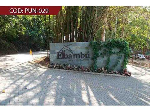 venta de casa amueblada puntarenas punta leona condominio bambu