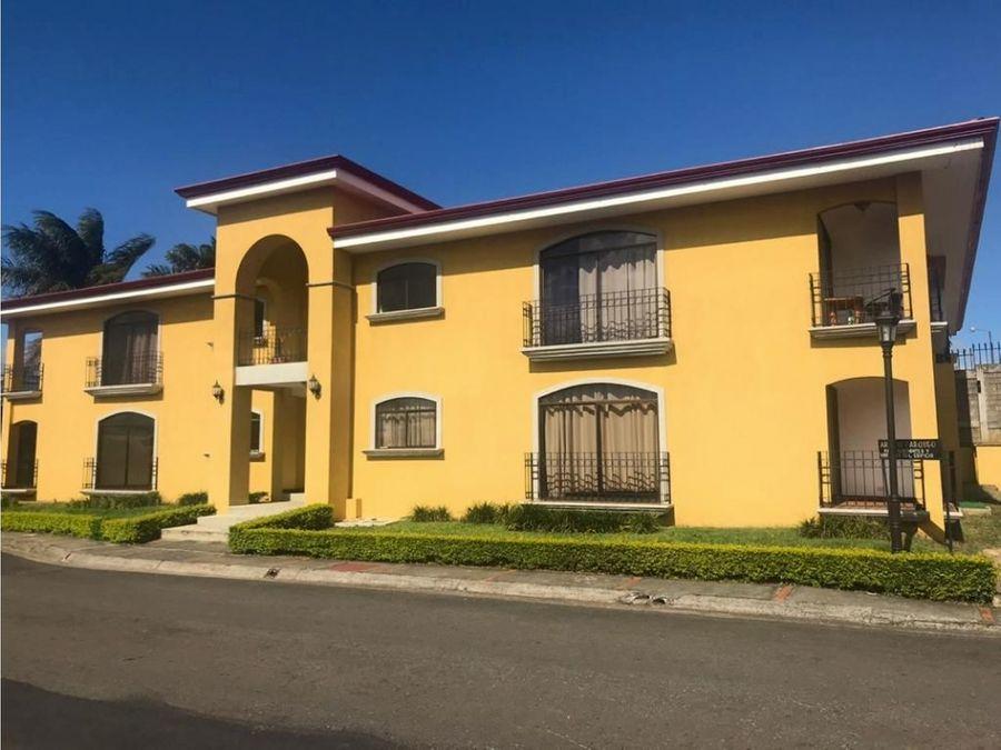 alquiler de apartamento heredia san pablo condominio santa fe