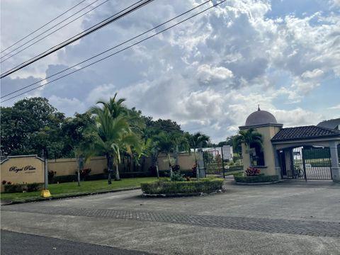 venta de lote alajuela la garita barrio san jose cond royal palm