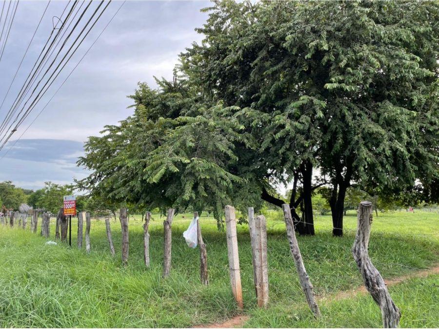 venta de lote uso mixto guanacaste tamarindo huacas