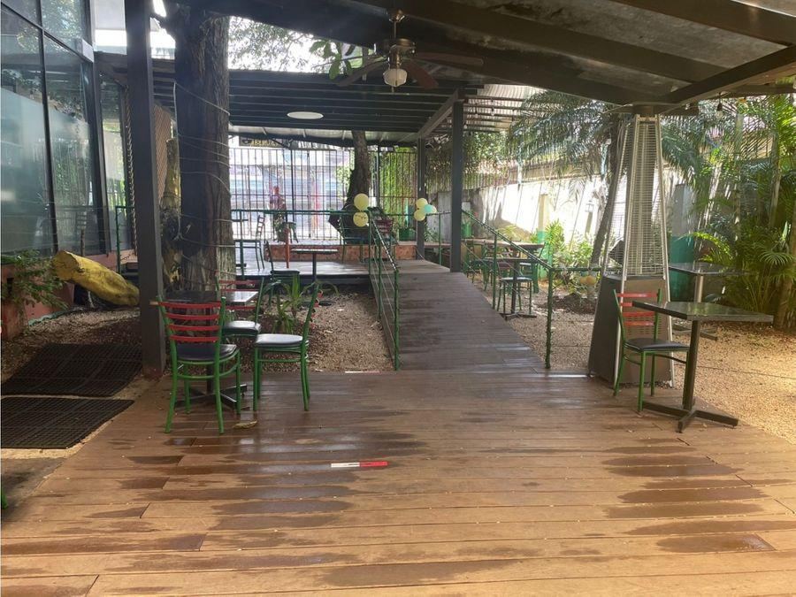 venta de negocio de restaurante escazu guachipelin