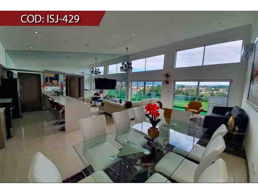 venta de penthouse rohrmoser condominio paradisus