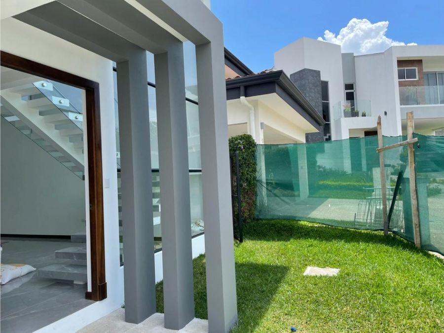 venta de casa nueva heredia ulloa condominio francosta