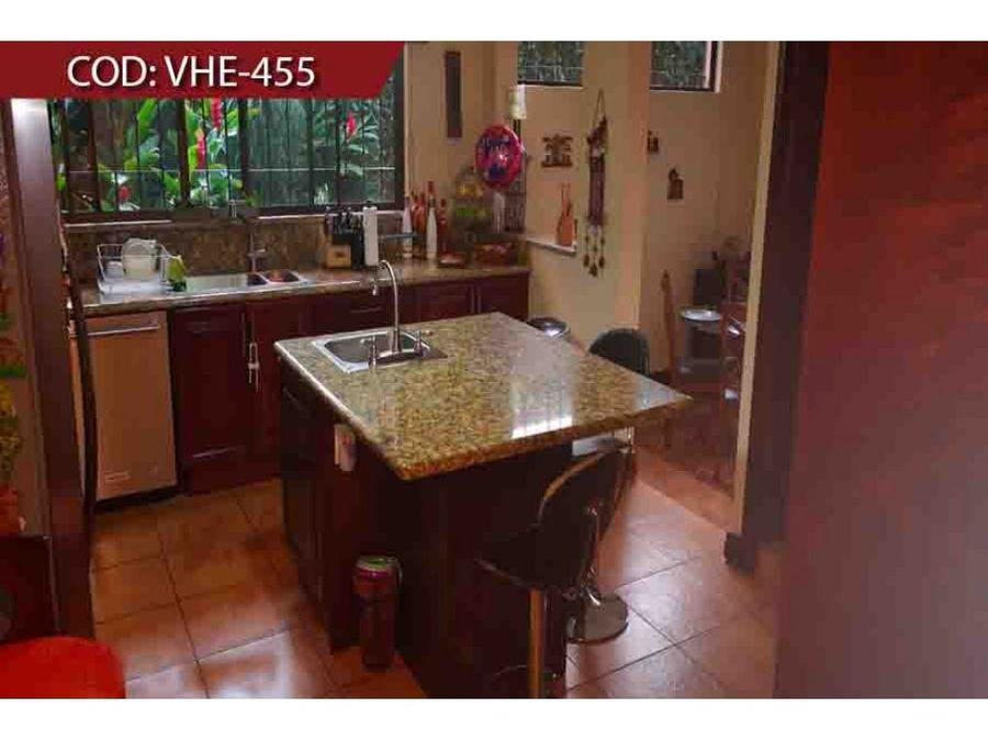 venta de casa heredia condominio bosques de dona rosa