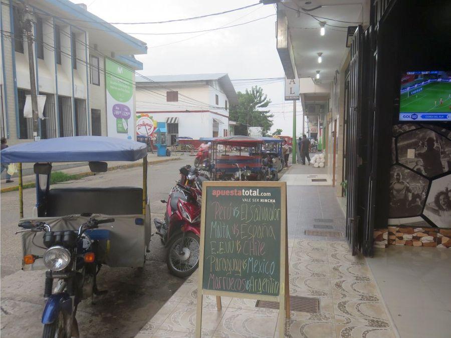 vendo local comercial en yurimaguas loreto