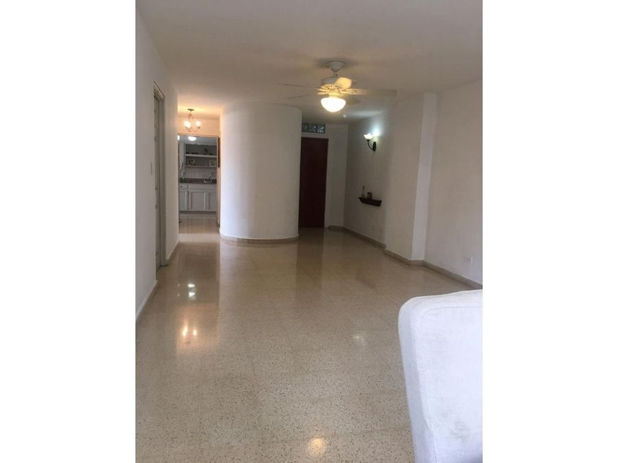 apartamento semiamoblado en alquiler en obarrio