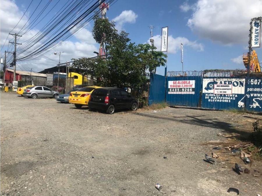 terreno en venta en mananitas con frente a la via panamericana