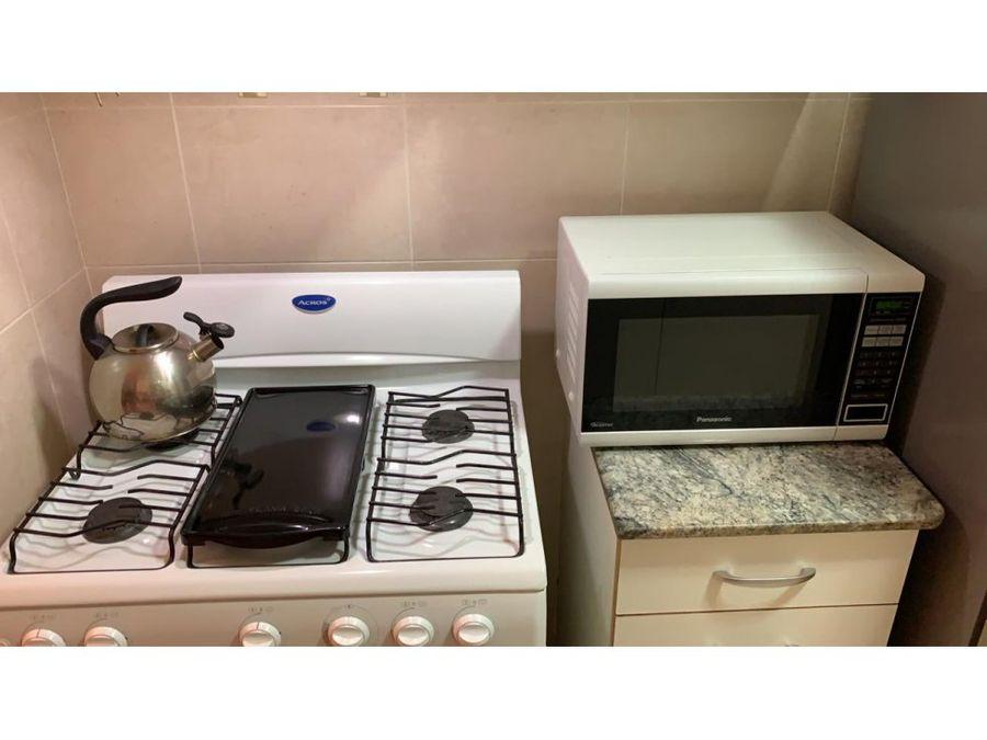 apartamento amoblado en alquiler en el cangrejo