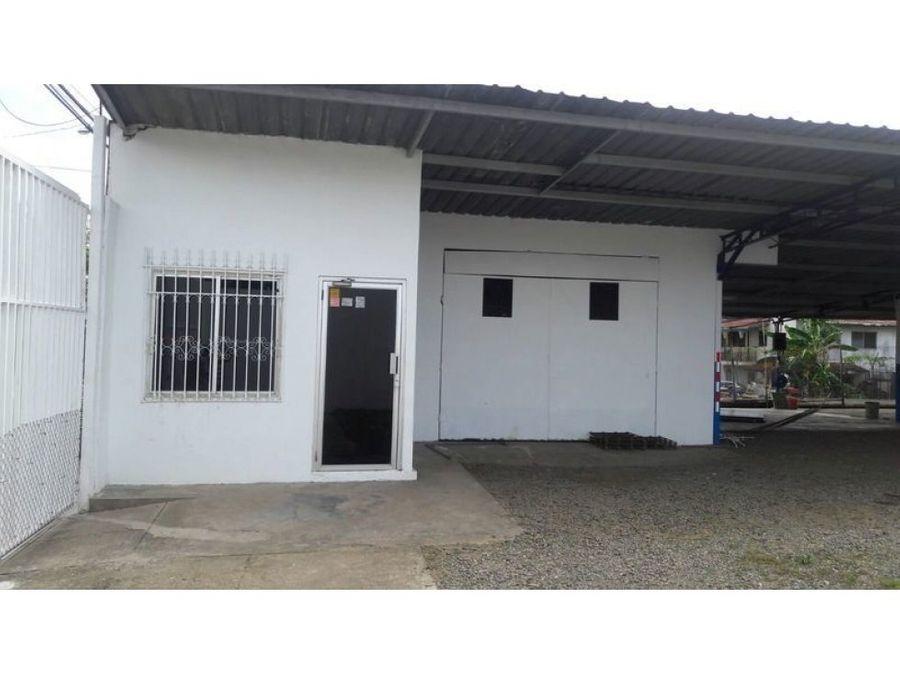 terreno con galera en venta en juan diaz llano bonito