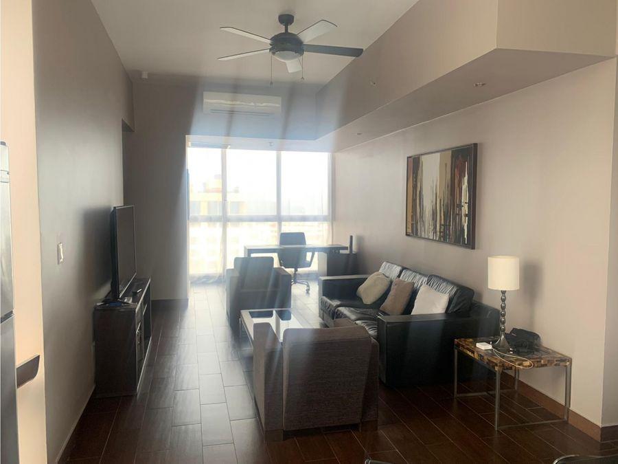 apartamento amoblado en alquiler en obarrio