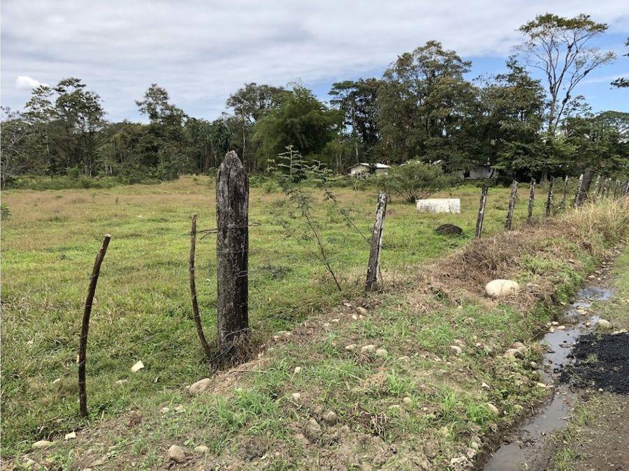 terreno potrero en barrio san martin siquirres