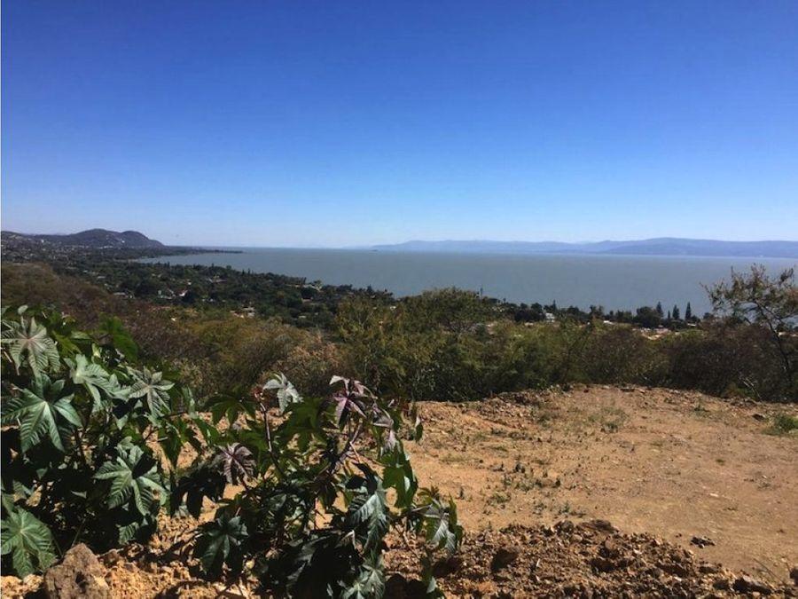 venta de lote en ajijic vista montana y lago bc