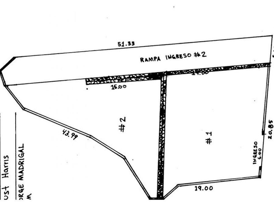 venta de terreno en chula vista norte ko
