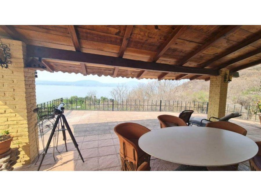 casa en renta chapala con vista al lago