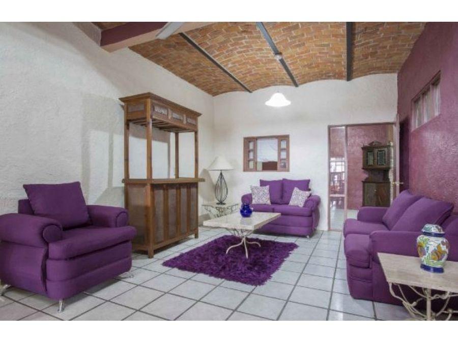 casa en venta ajijic 3 recamaras estilo mexicano