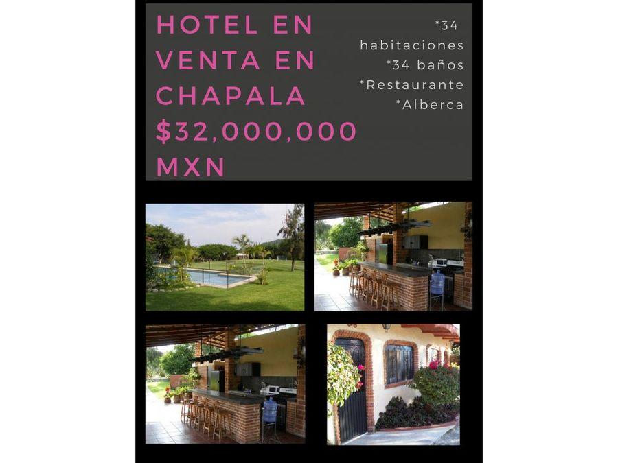 venta de hotel con oportunidad de inversion lm