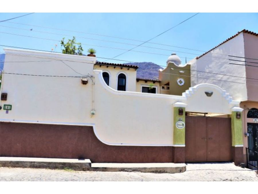 renta en ajijic estilo mexicano