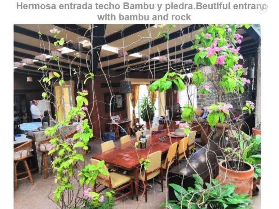 casa ecologica chapala