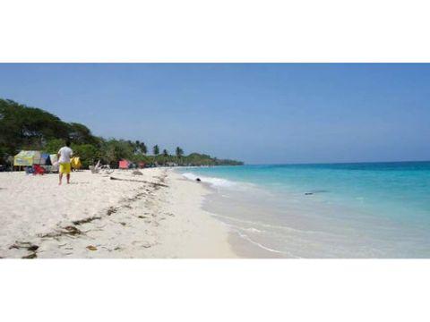 vendo lote en la playa de cartagena