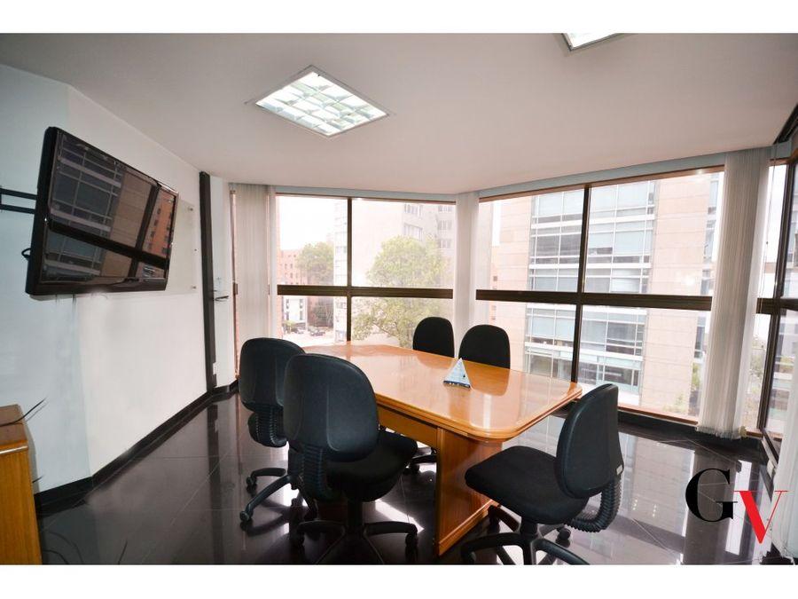 en venta edificio de oficinas en el nogal para inversion