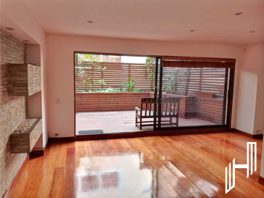apartamento para venta en chapinero alto con terraza