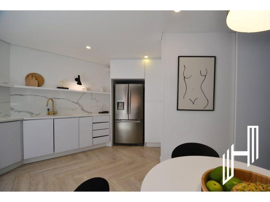 apartamento con terraza para venta en bosque medina