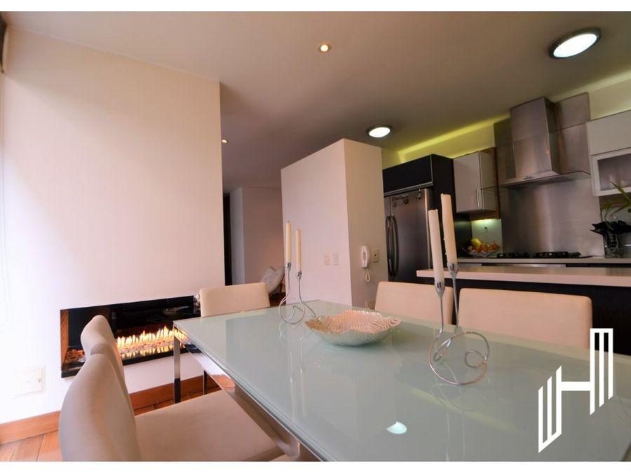 moderno apartamento para venta en chico reservado