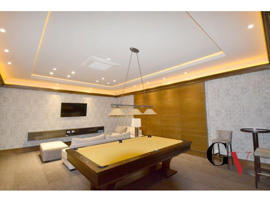 exclusivo apartamento en venta en cabrera