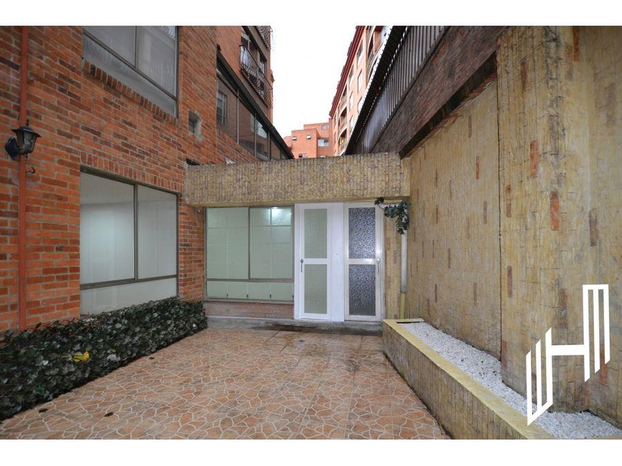 apartamento con terraza para venta en chapinero alto
