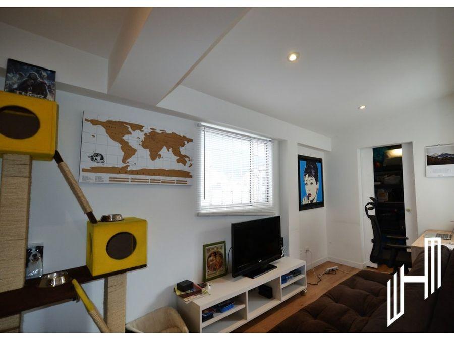 venta apartamento con terraza en chapinero alto