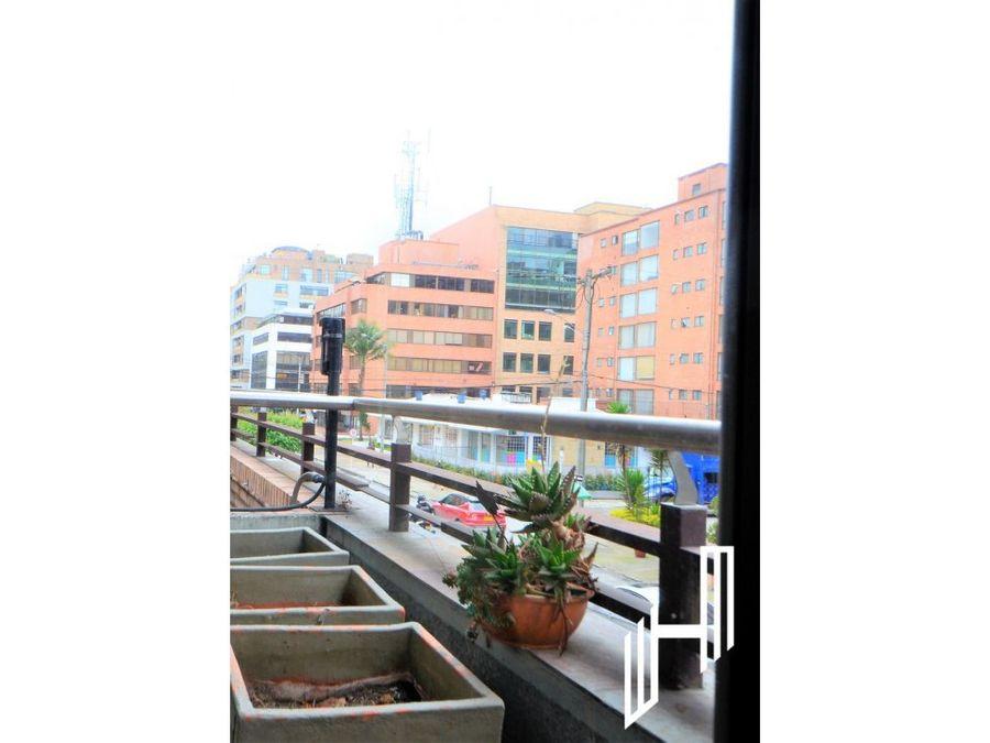 apartamento para venta con balcones en santa barbara