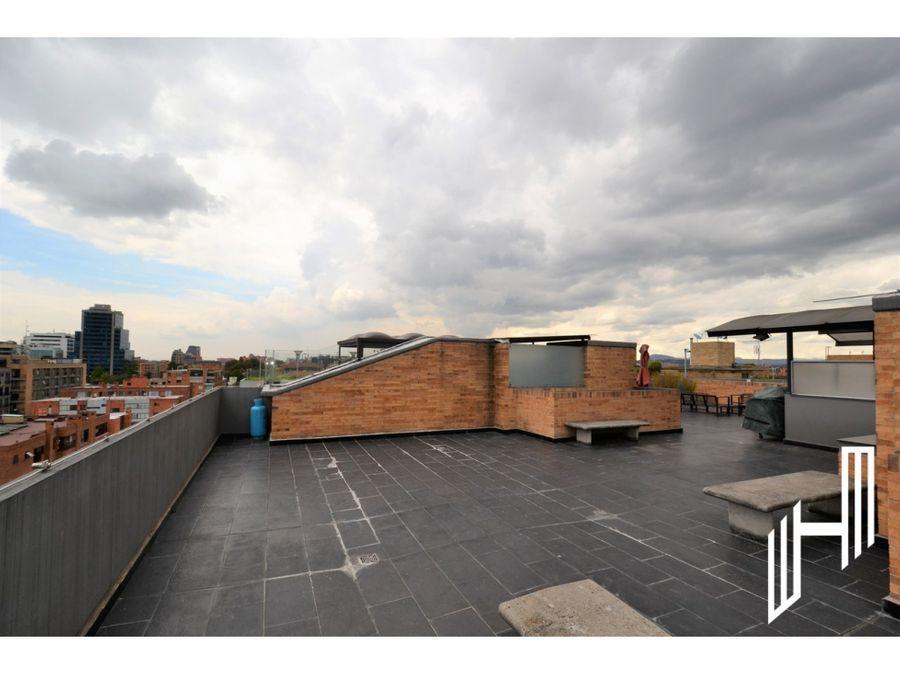 penthouse en venta con terraza en santa bibiana