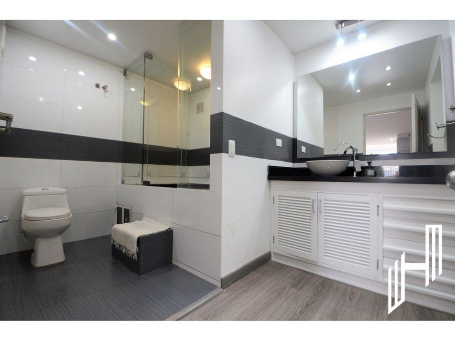 venta apartamento con terraza y club house en rosales