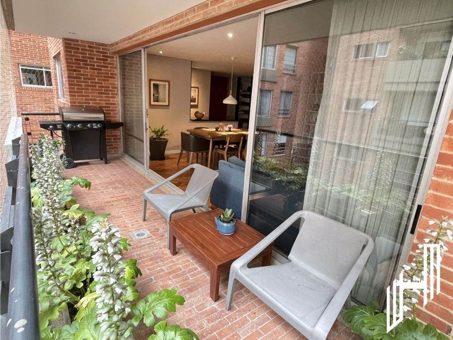 venta apartamento con balcon en cabrera