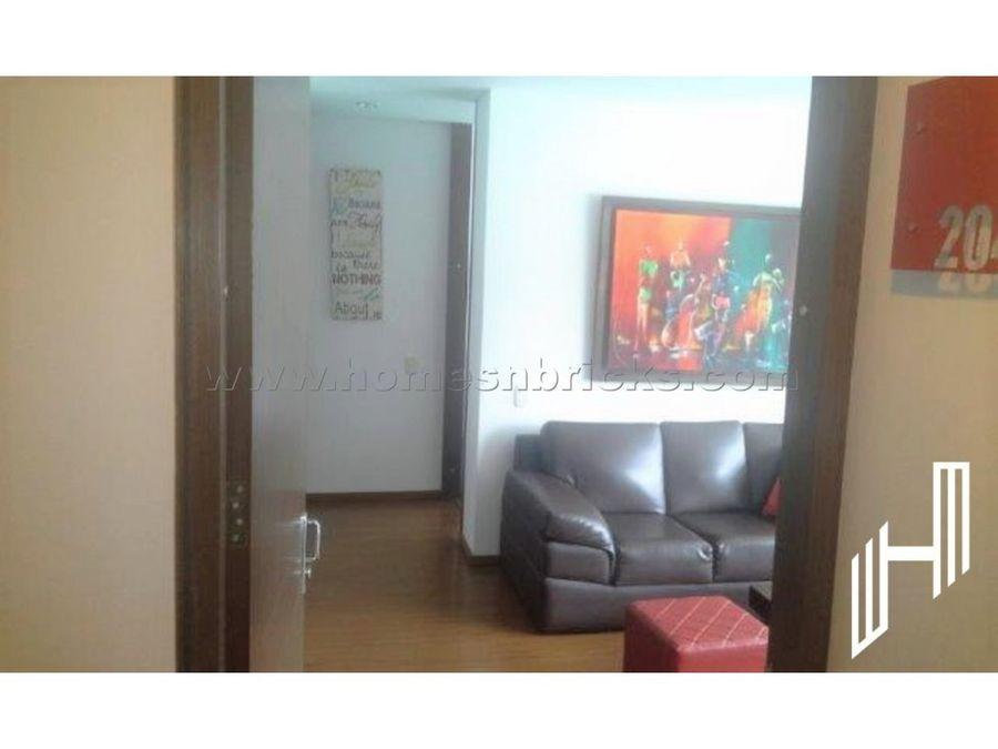 apartamento para venta en bella suiza con balcon
